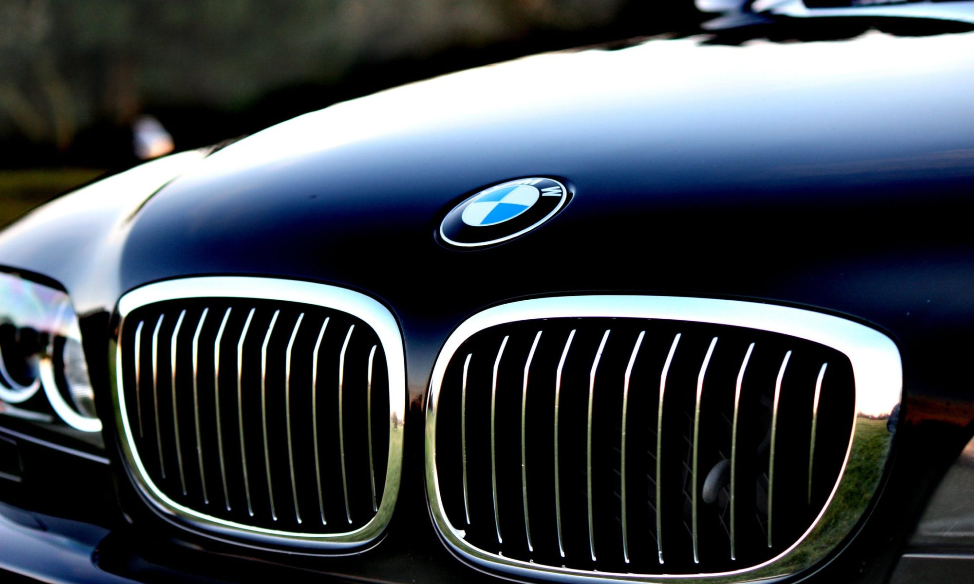 bmw close up